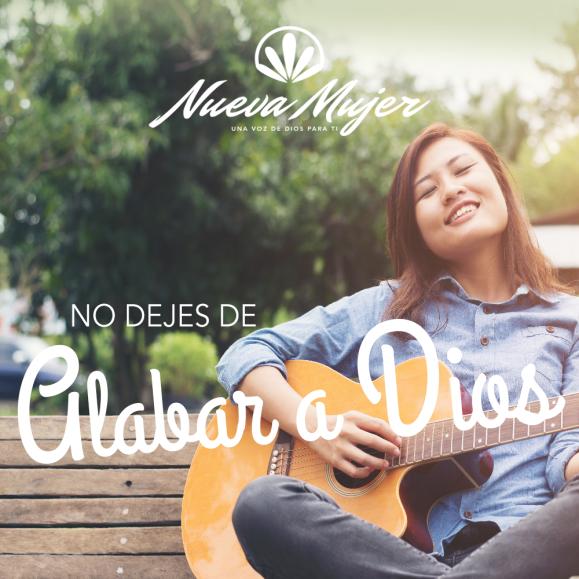 NO DEJES DE ALABAR