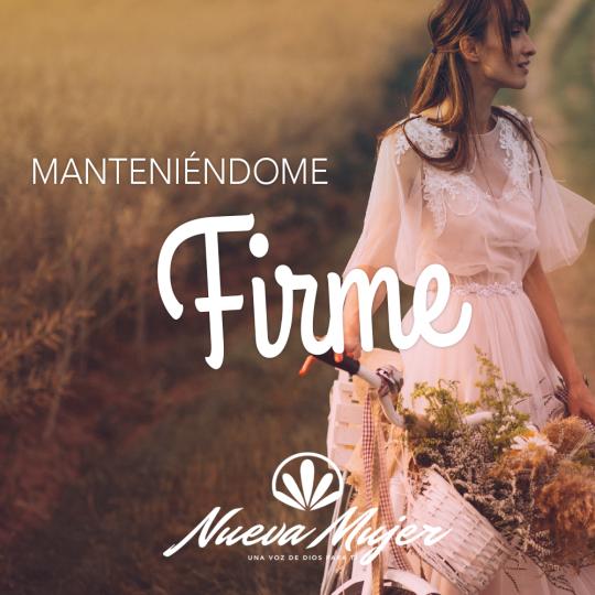 MANTENIENDOME FIRME